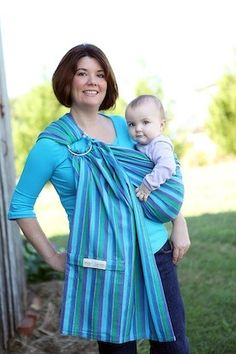Mom-recommended, the Maya Wrap Lightly Padded Ring Sling simplifies the craziest days with little ones.  Unlike other carriers, there are no snaps, buckles, or ties to fiddle with.  You can wear your little one in a variety of positions; hip carriers, newborn carries, and kangaroo carries make the Lightly Padded Ring Sling the most versatile carrier on the market.