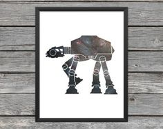 Galactic Empire Poster Galactic Empire Print by LancastPrints