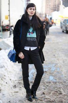 NYC Street Style 2014 elle 3