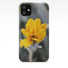 Yellow Flower Close-Up Photo iPhone Case by Flower Close Up, Unique Iphone Cases, Close Up Photos, Yellow Flowers, Artwork, Work Of Art
