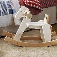 Buy Wooden Rocking Horse - from The White Company