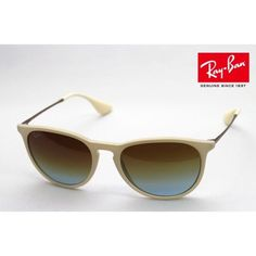 Ray ban sunglasses White Erika Classic frames are no longer made. These are in excellent condition and come with original case. Only signs of wear on case. Ray-Ban Accessories Sunglasses