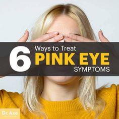 Pink eye symptoms - Dr. Axe