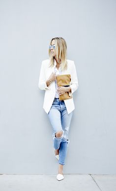 Damsel in Dior. Boyfriend Jeans. Fashion Blogger