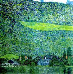 Gustav Klimp, Unterach on lake atter