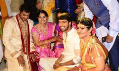 Allari Naresh-Virupa marriage photos
