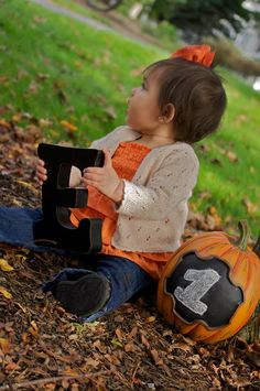 My daughter Emilia's first birthday fall photo shoot!