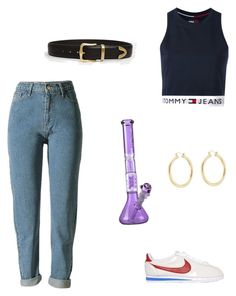 """J"" by miumiudeleeuw on Polyvore featuring ASOS, Tommy Hilfiger, NIKE and Isabel Marant"