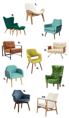 10 gorgeous accent chairs