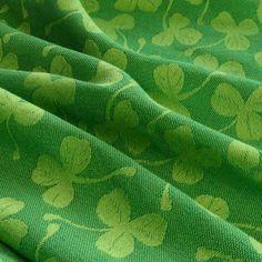 Didymos Jacquard 3-Leaf Clover hemp, Woven Wrap, Didymos, Little Zen One