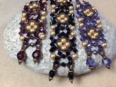 Burnished Lace Bracelet Redux  ~ Seed Bead Tutorials