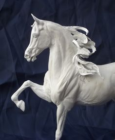 "Adlai ""Ornament of God"" Park Trot Arabian Gelding sculpted by Tabatha Pack of…"