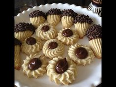 Italian Spritz Cookies With NUTELLA and Chocolate...and yelling goats - YouTube