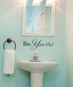 Look at this #zulilyfind! 'Be. You. Tiful' Wall Quotes™ Decal #zulilyfinds
