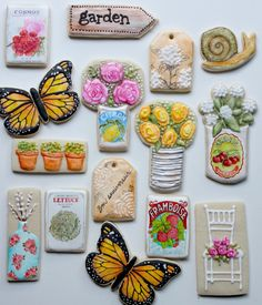 Okay, so this isn't recycled, but it IS taking a common form (cookies) and changing the function to great tasting art!