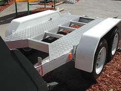 Aluminium Trailers 15, The aluminium frame construction has a 30% higher tensile and yield strength than that of mild steel making it stronger than its steel competitors.