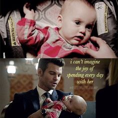 The Originals - Elijah and Baby hope