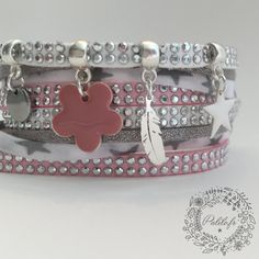 Mon bracelet Liberty Tendresse Rose by Palilo