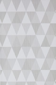 Wallpaper by ellos - Vaaleanharmaa Bonnie-tapetti, vaaleanharmaa