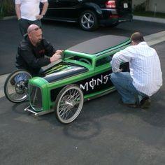 Awesome peddle car.