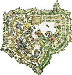 resort parking design plan - The residences at Ritz caarlton