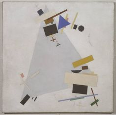 Kasimir Malevich (1878‑1935)  Title  Dynamic Suprematism  Supremus  Date  1915 or 1916  Medium  Oil on canvas
