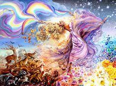 Josephine Wall Cool Babes | jlm josephine wall « Wall Josephine « Artists « Art might - sólo ...
