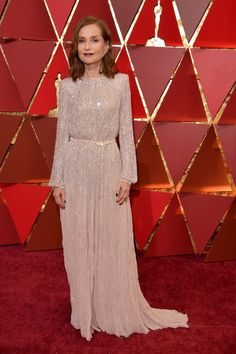 Isabelle Huppert at the 89th Oscars 2017