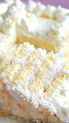 Coconut Frenzy Cake Recipe ~ Pure coconutty deliciousness!