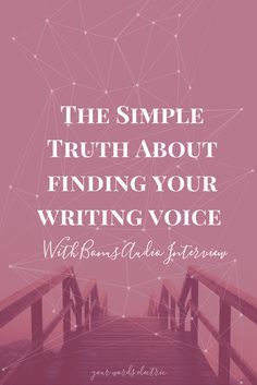 Do you want to stand more confidently in your creativity and voice? Click to learn how to strengthen your writing and ability to connect with your readers.