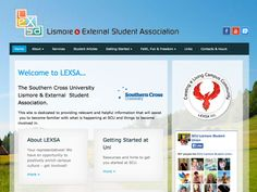 lexsa.com.au - SCU Student Association - refreshed website January 2014