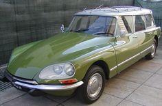 Citroën DS Break (model 9/1967-1975)  http://www.pinterest.com/adisavoiaditrev/