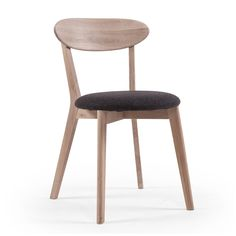 Wood Fold Spisebordstol, Hvitpigmentert Eik, Department