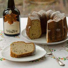Madeira Pound Bundt Cake Slice