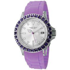 IBI Ladies' Casual Watch In Purple - http://www.beyondtherack.com/member/invite/B73C5795