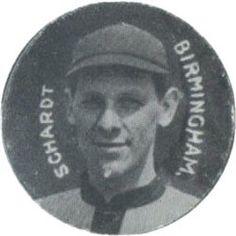 1909-11 Colgan's Chips Stars of the Diamond E254 #NNO Bill Schardt Front