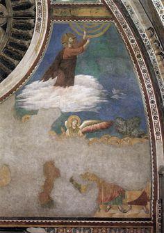 Ascension of Christ by GIOTTO di Bondone #art