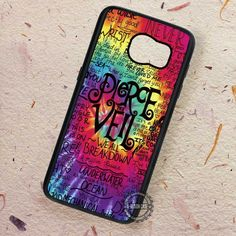 Tie Dye Pierce The Veil - Samsung Galaxy S7 S6 S5 Note 7 Cases & Covers