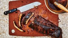Grilled Pork Ribs with Gochujang Barbecue Sauce Recipe | Bon Appetit