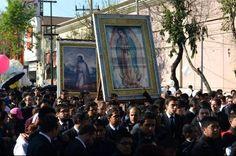 Más de 2 mil peregrinaciones ocurrieron en el Santuario de Guadalupe en 2014