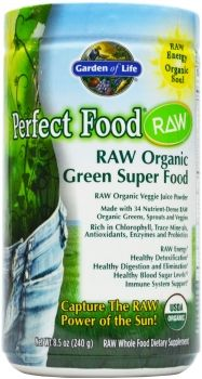 Get the MOST GREENS with Perfect Food Raw! #Certified Organic, #raw, #vegan, NON-GMO #Nothingelsecompares