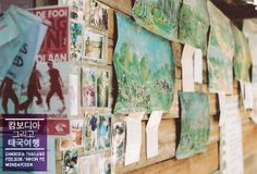2006 in Thailand 직접그린 그림을 파는 곳
