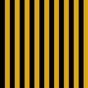 Egyptian Stripe Black and Gold by anamaye
