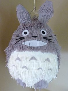 totoro in the form of a pinata. yes, please.