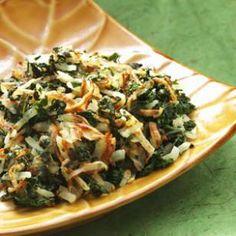 Kale & Potato Hash for a clean breakfast