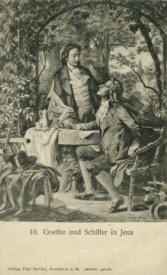 Hermann Junker, Goethe und Schiller in Jena, Verlag Paul Grödel in Frankfurt a.M.