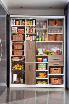 cocina moderna porción Transformar | El Arte De Almacenamiento personalizada
