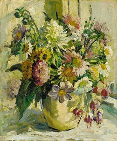 Dorothea Sharp  Still Life with Summer Flowers  Late 19th - early 20th century