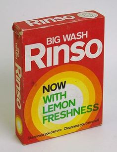 'Rinso' soap powder by Lever was available in New Zealand from at least the 1910s . From the twenties it was made domestically by Lever Bros (NZ) Ltd. in Petone. As far as I know it was phased out in 1982, and the last boxes were a special 'retirement' edition with the Rinso mascot holding his belongings tied in a spotted handkerchief tramp-style - and a 25 cents farewell coupon to spend on their other products (Drive, Persil, Surf). So this box would slightly pre-date that.