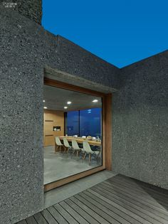 A View To A Thrill: Swiss Alps Bring Drama to Vacation House by Wespi de Meuron Romeo